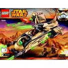 LEGO Wookiee Gunship Set 75084 Instructions
