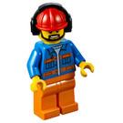 LEGO Worker Minifigure