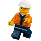 LEGO Worker with Nametag Minifigure