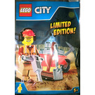 LEGO Workman and wheelbarrow (CITY951702)