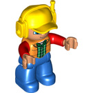 LEGO Workman Duplo Figure
