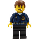 LEGO World City HQ Policeman Minifigure