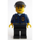 LEGO World City Patrolman Minifigure