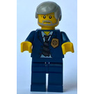 LEGO World City Police Chief Minifigure
