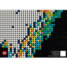 LEGO World Map Set 31203 Instructions
