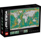 LEGO World Map Set 31203 Packaging
