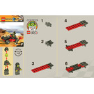LEGO World Race Buggy Set 30032 Instructions