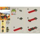 LEGO World Race Buggy Set 30032 Instructions