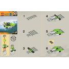 LEGO World Race Powerboat Set 30031 Instructions