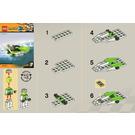 LEGO World Race Powerboat Set 30031 Instructions