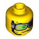 LEGO World Racers Head (Safety Stud) (3626 / 90207)