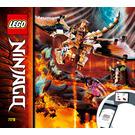 LEGO Wu's Battle Dragon Set 71718 Instructions