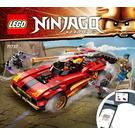 LEGO X-1 Ninja Charger Set 71737 Instructions