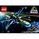 LEGO X-wing Fighter Set 7142 Instructions