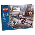 LEGO X-wing Fighter Set (Blue box) 4502-1 Packaging
