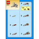 LEGO X-wing Fighter Set (Kabaya) 6963 Instructions