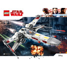 LEGO X-wing Starfighter Set 75218 Instructions
