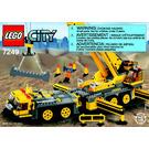 LEGO XXL Mobile Crane Set 7249 Instructions
