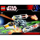 LEGO Y-wing Fighter Set 7658 Instructions