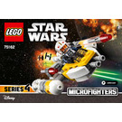 LEGO Y-wing Microfighter Set 75162 Instructions