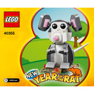 LEGO Year of the Rat Set 40355 Instructions