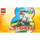 LEGO Year of the Sheep Set 40148 Instructions