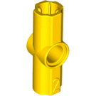 LEGO Yellow Angle Connector #2 (180º) (32034 / 42134)