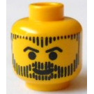 LEGO Yellow Aquashark Head (Safety Stud)