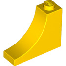 LEGO Yellow Arch 1 x 3 x 2 with Inside Bow (18653)