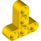 LEGO Yellow Beam 3 x 3 T-Shaped (60484)