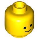 LEGO Yellow Benny Plain Head (Recessed Solid Stud) (17295)