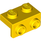 LEGO Yellow Bracket 1 x 2 - 1 x 2 (99781)