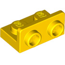 LEGO Yellow Bracket 1 x 2 - 1 x 2 Up (99780)