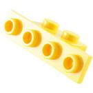 LEGO Bracket 1 x 2 - 1 x 4 without Rounded Corners (2436)
