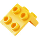 LEGO Yellow Bracket 1 x 2 - 2 x 2 (21712 / 44728)