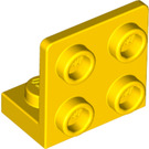 LEGO Yellow Bracket 1 x 2 - 2 x 2 Up (99207)