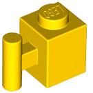 LEGO Yellow Brick 1 x 1 with Handle (2921)