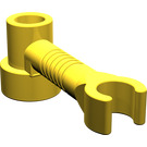 LEGO Brick 1 x 1 x 2/3 Round with Bar and Vertical Clip (4735)