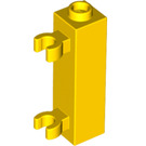LEGO Brick 1 x 1 x 3 with 2 Clips Vertical (Solid Stud) (60583)