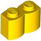 LEGO Yellow Brick 1 x 2 Log (30136)