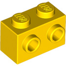 LEGO Yellow Brick 1 x 2 with Studs on One Side (11211)