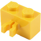 red LEGO 30237 Brick 1x2 with Clip Vertical quantity of 20