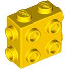 LEGO Yellow Brick 1 x 2 x 1.33 with 8 Knobs (67329)