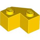 LEGO Yellow Brick 2 x 2 Facet (87620)