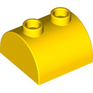 LEGO Brick 2 x 2 with Curved Top and 2 Studs on Top (30165)