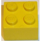 LEGO Yellow Brick 2 x 2 without Cross Supports
