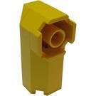 LEGO Yellow Brick 2 x 2 x 3 & 1/3 Octagonal Corner (6043)