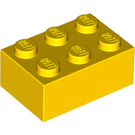 LEGO Yellow Brick 2 x 3 (3002)