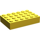 LEGO Yellow Brick 4 x 6 (2356)