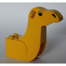 LEGO Yellow Camel Head with Nose and Eyes
